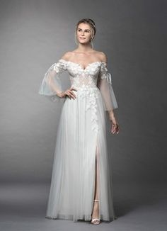Shop Azazie Wedding Dress - Stevie BG in Tulle and Lace. Find the perfect wedding dress for your big day. Available in full size range and in custom sizing at Azazie. Bridal Looks, Bridal Style, Dresses Short, Sweetheart Dress, Perfect Wedding Dress, Custom Dresses, Dream Dress, Chiffon Dress, Wedding Gowns