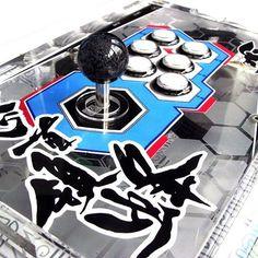 Awesome #custom #Dodonpachi #arcade stick by user b15sdm @ joystick vault #retrogaming