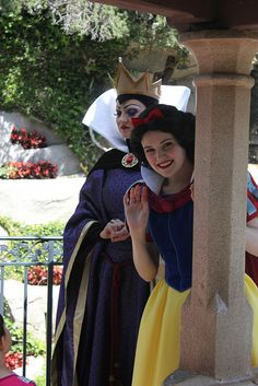 Snow White & the Evil Queen from Snow White and the Seven Dwarfs