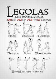 Legolas Workout