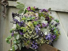 autumn floral design bycrownhouseflowers.co.uk