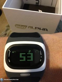 MIO Alpha Heart Rate Monitor Watch to manage my tachycardia