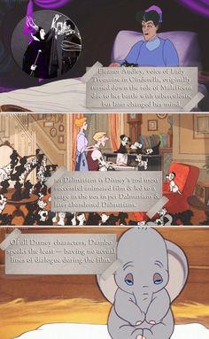 Little-known Disney facts - Cinderella 101 Dalmatians & Dumbo Disney Fanatic, Disney Nerd, Disney Addict, Disney Girls, Punk Disney, Disney Dream, Disney Love, Disney Magic, Disney Stuff