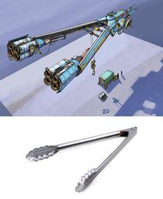 Cet illustrateur transforme les objets du quotidien en vaisseaux futuristes | Ufunk.net