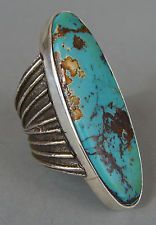 Sand Cast Silver Ring