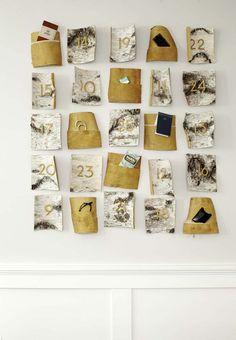 Birch bark advent calendar by @falkenreynolds    Photo by Janis Nicolay