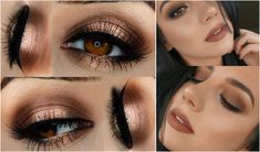 ΧΡΙΣΤΟΥΓΕΝΝΙΑΤΙΚΟ ΜΑΚΙΓΙΑΖ ΓΙΑ ΚΑΣΤΑΝΑ ΜΑΤΙΑ | Staxtopouta Smokey Eye, Make Up, Lipstick, Eyes, Beauty, Google, Fitness, Lipsticks, Makeup