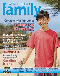 Sept 2014: Connect wNature at Torrey Pines State Reserve, plan an adventure to Catalina Island, discover afterschool activities and more with our September issue.