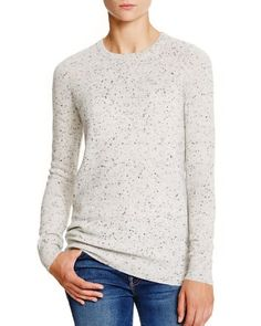 C by Bloomingdale's Flecked Cashmere Sweater | Bloomingdale's