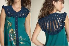 Magnolica: Crochet + Tela