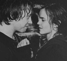 Ron & Hermione (L) #HarryPotter