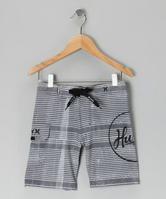 Take a look at these cool  Cinder Bomb Boardshorts - Infant, Toddler & Boys by Hurley on #zulily today!