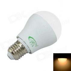 Color: White; Color BIN: Warm White; Brand: XinYiTong; Model: CF-LED-056-2; Material: PC; Quantity: 1 Piece; Power: 5W; Rated Voltage: AC 85-265 V; Connector Type: E27; Chip Type: 2835; Emitter Type: Others,2835 SMD LED; Total Emitters: 18; Theoretical Luminous: 480 lumens; Actual Luminous: 450 lumens; Color Temperature: 3000 K; Dimmable: no; Beam Angle: 180 °; Packing List: 1 x LED Light Bulb; http://j.mp/1AtPh25