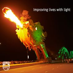 Lighting the Dragon Bridge in Vietnam's Da Nang port is improving the lives of local fishing families | Innovation and you
