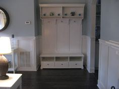 mudroom using Ikea Liatrop