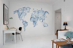 Wall mural R11721 Water World