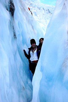 Climbing New Zealands Franz Josef Glacier