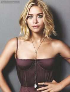 Again, Ashley in @Marie Claire is gorgeous. I think I will cut my #hair like this. What do you think? This bustier is also gorg. Any idea where to get something similar? #SocialblissStyle #AshleyOlsen #Style #Icon