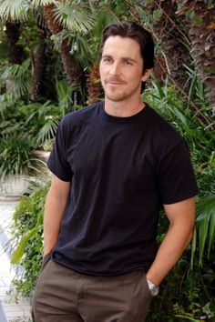 "Christian Bale during the ""Rescue Dawn"" (2006) press conference"