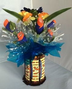 Candy Bouquet Edible Vase Full Size - Heath