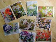 Frühlingsbilder in Aquarell als Kunstkarte | Auswahl unserer Kunstkarten (c) Frank Koebsch