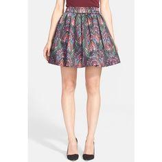 Alice + Olivia 'Stora' Skirt ($330) ❤ liked on Polyvore