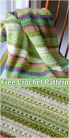 Fields And Furrows Crochet AfghanYou can find Crochet afghans and more on our website.Fields And Furrows Crochet Afghan Crochet Afghans, Baby Afghan Crochet Patterns, Baby Blanket Crochet, Crochet Stitches, Crochet Hooks, Crochet Baby, Knit Crochet, Knitting Patterns, Afghan Blanket