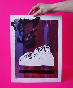 Stoner Road 5/10. Hand pulled Screen Print. Unique Print.   Etsy Stoner, Screen Printing, Hands, Etsy, Unique, Prints, Handmade Gifts, Hand Made, Screen Printing Press
