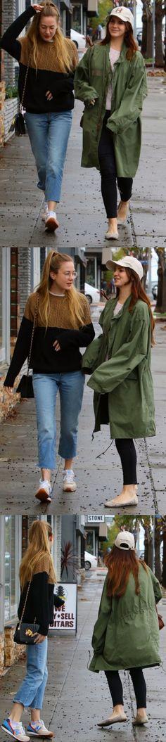 Jan.23, 2017: Lana Del Rey and sister Chuck Grant in Sherman Oaks, CA #LDR