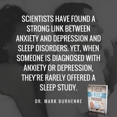 If you struggle with anxiety or depression, you owe it to yourself to rule out a sleep disorder as a root cause. Download a sleep app to your smartphone to see how you're sleeping tonight: http://askthedentist.com/sleep-app/?utm_campaign=coschedule&utm_source=pinterest&utm_medium=Ask%20the%20Dentist