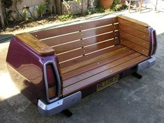 recycle bench