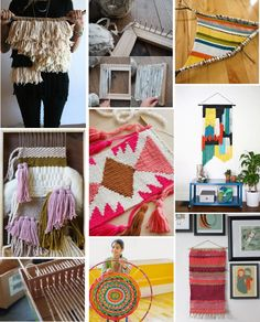 Poppytalk: Weekend Project | 10 Weaving Tutorials + Ideas
