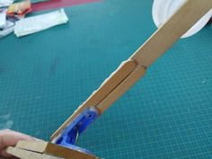 A Very Simple Catapult to Make With Kids : 6 Steps (with Pictures) - Instructables Popsicle Stick Crafts, Craft Stick Crafts, Craft Sticks, Girl Scout Swap, Girl Scout Leader, Catapult For Kids, Rocking Horse Toy, Girl Scout Crafts, Brownie Girl Scouts