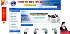 Thiết kế website Công ty Camera Hoàng Kiên Loại hình: Thiết kế web Công ty Camera  -  Khách hàng ở Kiến An, Hải Phòng Màu sắc chủ đạo: Xanh nước biển Thời gian thiết kế: 8 ngày  -  bởi: HIG - thiết kế web Hải Phòng