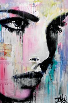 View LOUI JOVER's Artwork on Saatchi Art. Find art for sale at great prices from artists including Paintings, Photography, Sculpture, and Prints by Top Emerging Artists like LOUI JOVER. Art Paintings, Painting Prints, Painting & Drawing, Portrait Paintings, Drawing Portraits, Drawing Eyes, Painting Canvas, Paintings Of Eyes, Abstract Portrait Painting