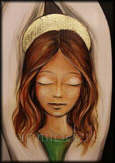 An Art: Znowu mamy grudzień! Wood Art, Disney Characters, Fictional Characters, Carving, Disney Princess, Paintings, Saints, Angel Wings, Faces