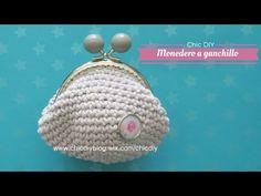 MONEDERO CROCHET |COMO HACER UN MONEDERO GANCHILLO| CHIC DIY - YouTube