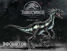 Indoraptor concept by wingzerox86