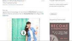 THE FASHIONAMY by Amanda: Press: Intervista sul blog di Pashion Victim - English version Interview on Pashion Victim#blogger #fashionbloggers #italy #fashionblog