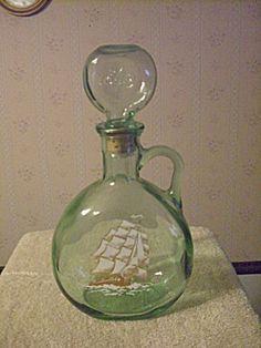 old liquor bottle