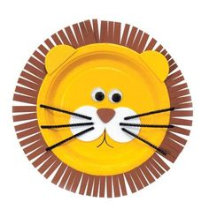 Foam Lion Plates Activity Kit
