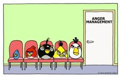Angry Birds go to Anger management The doctor is in.   Follow Gameoapp.com for game tips, tricks, #humor, crafts and more!