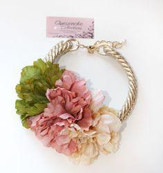 cinturones de flores buscar con google