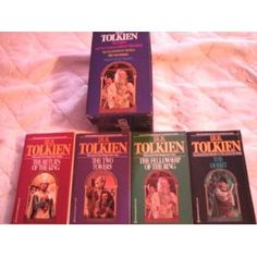 Lord of the Rings box set is one of my favorite set of fantasy books to read, I have read them more than once.