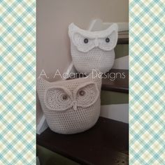 The Happy Hooker, Not Your Grandmas Crochet...: Crochet Snow Owl Pillow