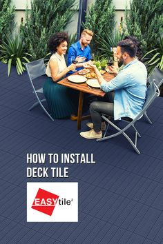 """An eco-friendly choice for your yard, patio or balcony, EASY