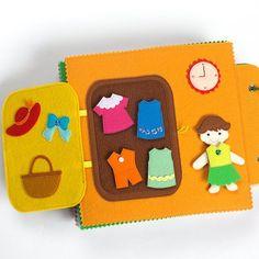 Activity Book  Quiet Book  Busy Book  Felt Book  Toddler