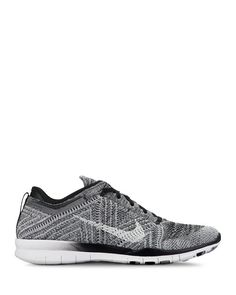 Nike Women's Free Flyknit Lace Up Sneakers | Bloomingdale's