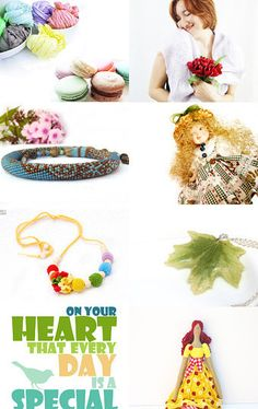 La Macaron - Etsy Treasury by Ksenia--Pinned with TreasuryPin.com