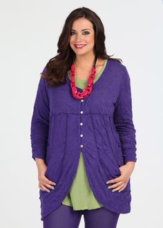 TS14 Plus   Plus Size Clothing   Cardy & Shrugs - OUT & ABOUT CARDY - TS14
